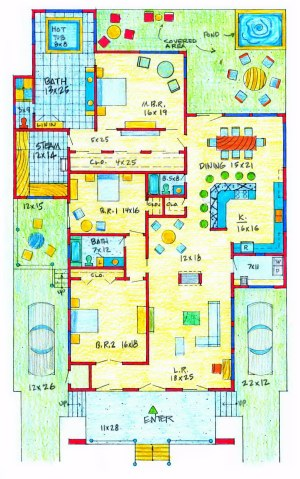 Floor Plans | Spanish Lace Apartments